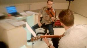 Преподаватели Лаборатории звука | Гитара и скрипка. Очень красивая мелодия