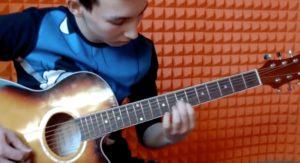 "Данир | Noise MC – ""Выдыхай"" на гитаре."