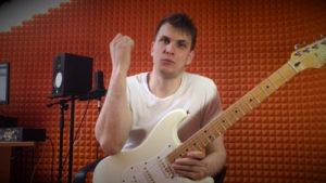Как правильно играть тэппинг на электрогитаре?